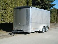 2015 CONTINENTAL CARGO 7x14 Tail wind