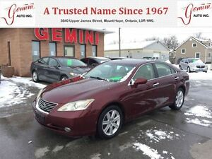 2008 Lexus ES 350 Heated/Cooled Leather Moon Roof
