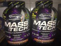 Brand new. Sealed. Mass tech supplement