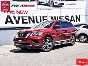 2019 Nissan Pathfinder Platinum V6 4x4 at