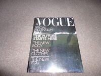 VOGUE British magazine - special Millennium issue December 1999