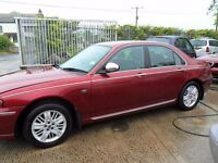 rover 75 parts from 2 cars 2,0 diesel red and 1.8 petrol blue
