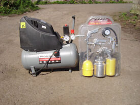 Electric air compressor 24ltrs.