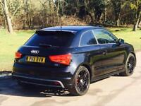 2011 AUDI A1 1.6 TDI S LINE BLACK EDITION £20 TAX HPI CLEAR NEW CLUTCH AND FLYWHEEL FITTED BARGAIN