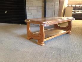 Free delivery solid wood coffee table