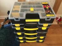 Stanley storage boxes