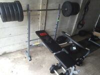 Lots of Gym equipment