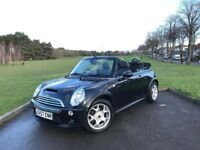 2007/57 MINI COOPER S 1.6 MANUAL, CONVERTIBLE***LOW 60,000 MILES WITH FULL SE...