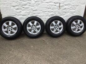 """Mitsubishi Shogun 17"""" alloy wheels"""