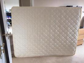 Kingsize 5FT Spring Mattress with Pillow Foam Top BRAND NEW