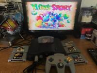 N64 Nintendo 64 Console & 6 Classic Games