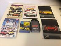Car books and car postcards
