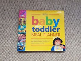 M&S baby and toddler meal planner