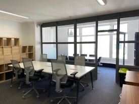 10-20 Desks Furnished Private Office Space - With *Roof Terrace* - *(Soho/Covent Garden - WC2H)*