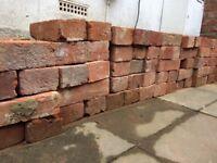 Reclaimed handmade Kent red bricks for sale