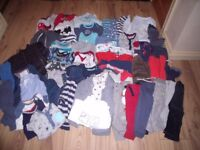 6-9 months baby boys clothes bundle approx 65 items all in good clean condition.