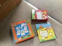 French game, puzzle and book for children aged 3-7