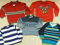 Boys jumpers 18-24m