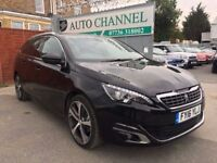 Peugeot 308 SW 1.6 BlueHDi GT Line EAT6 5dr (start/stop)£11,500 p/x welcome 1 YEAR FREE WARRANTY