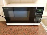 ** SHARP MICROWAVE 800WATTS! ONLY £39.99! **