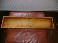 Vintage Carpentry woodworking chisels tool box