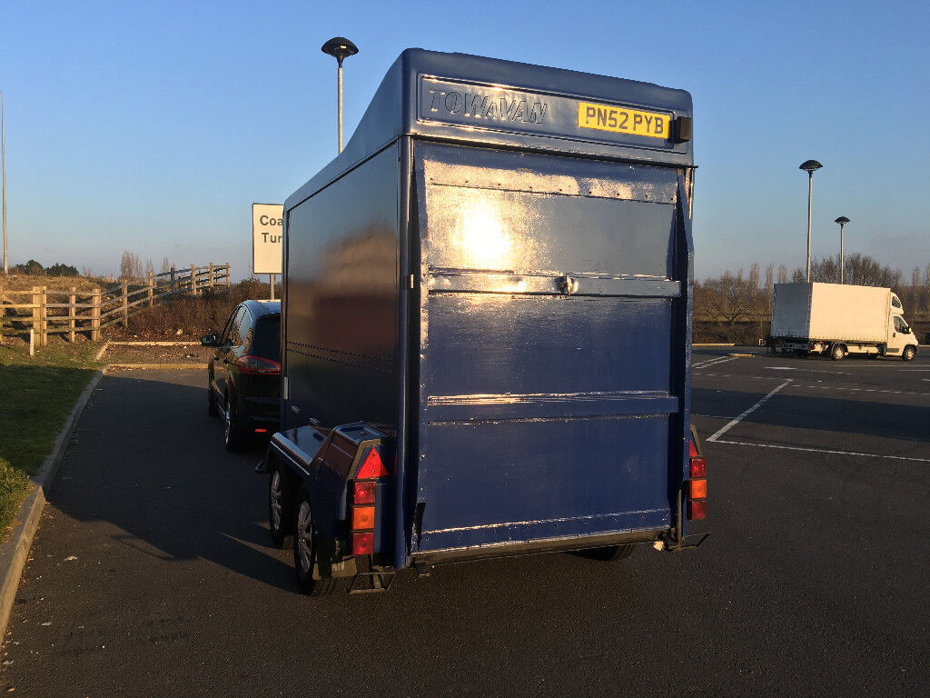 TOW-A-VAN TRAILER, TWIN AXLE, GOOD CONDITION, STORED DRY SINCE LAST SERVICE