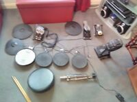 Roland TD11 (mesh snare) Complete setup Inc stool, bass pedal and sticks