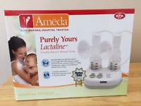 Ameda Lactaline Double Breast Pump RRP £140.00!!