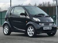2003 (Oct 53) SMART CITY-COUPE 0.7 PULSE FORTWO - Coupe 2 Door - AUTO - Petrol - BLACK *MOT/PX/CHEAP