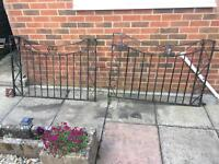 Wrought Iron Gate Set