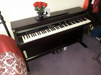 Chase 88 key Digital Piano with Black Wood Finish