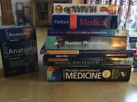 Medical books perfect for first year university