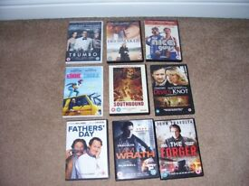 Nine DVD Movies