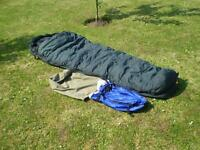 Expedition down sleeping bag. Alpine Designs 1200.