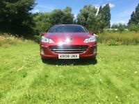 Diesel 2008 Peugeot 407 S 2.0HDI 6 Speed Cruise Control Dual Climate Aux Sat Nav ParkingSnr 2 X Keys