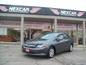 2012 Honda Civic LX 5 SPEED A/C CRUISE ONLY 112K