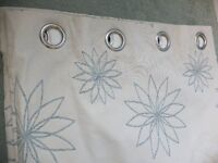 Dunelm Lined Curtains (each curtain is 182cm long * 260cm wide) Top of the range