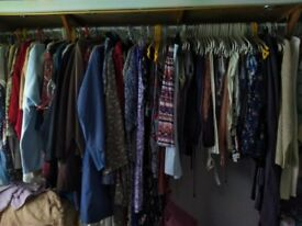 Womens clothing large sizes some items still have tags on tops trousers pj's jackets coats t shirts