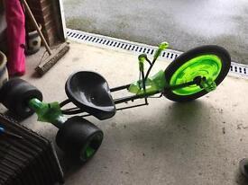 Green machine go kart