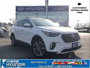 2017 Hyundai Santa Fe XL LUXURY|AWD|NAV|BACK-UP CAM|LEATHER|