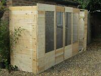 Aviary - Hand made - Think Timber - Bargain
