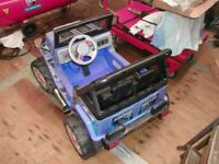 Raptor electric car for spares or repairs, worth fixing for sale  Dorset