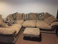 Lullaby corner sofa