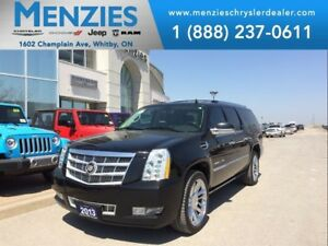 2013 Cadillac Escalade ESV Platinum, Navi, DVD, Sunroof, Clean C