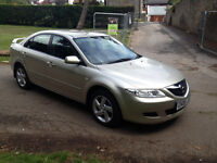 **VERY LOW MILEAGE 44K**MAZDA 6 1.8i SAKATA 05-05 *44K*BRAND NEW MOT EXCELLENT VALUE FOR ONLY £1499