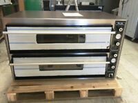 CANMAC SUPER PIZZA ELECTRIC PIZZA OVEN DOUBLE DECK