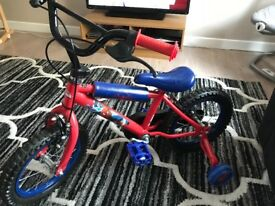 Spider-Man 12 inch children's bike