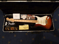 2012 USA Fender Stratocaster 3 tone Sunburst Maple Neck - Custom Shop Pickups..not PRS, Gibson