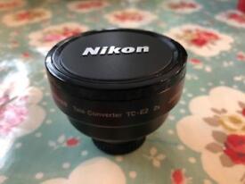 Nikon Tele converter TC-E2