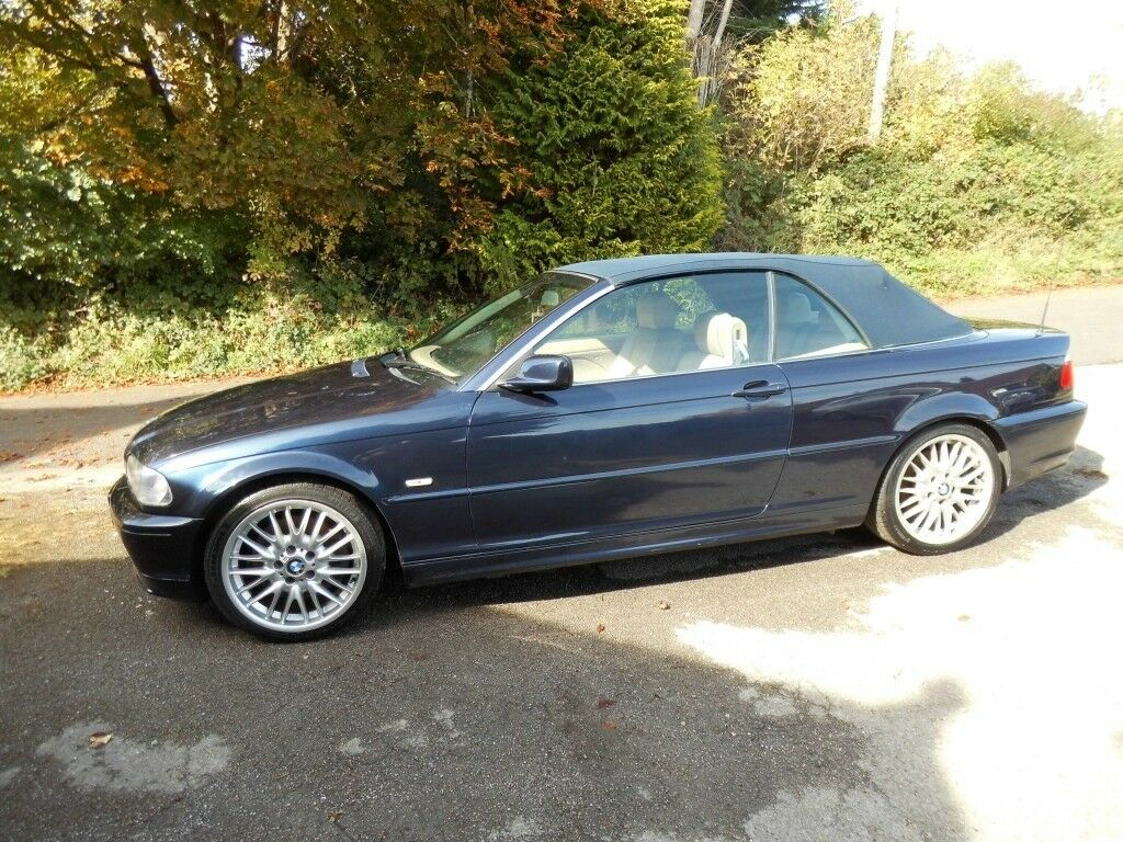 BMW 330ci convertible 02 manual with LPG and hard top